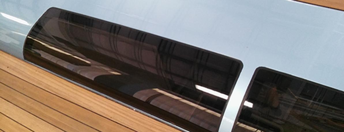Catamaran Boat Windows