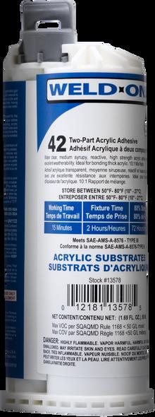 SCIGRIP IPS Weld-On #42 - Low VOC Acrylic Adhesive
