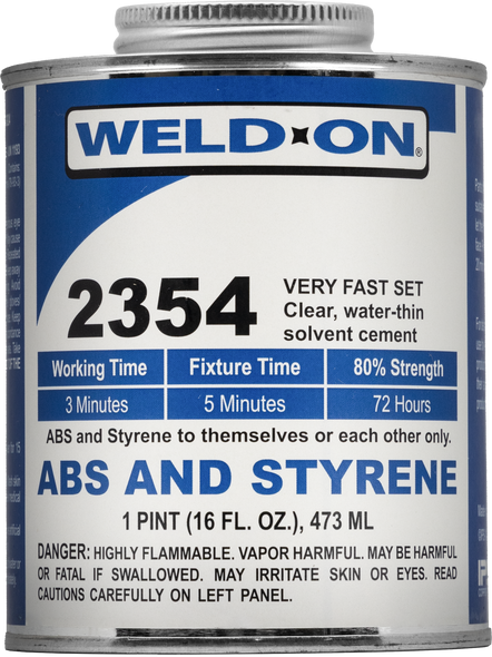 SCIGRIP IPS Weld-On #2354 - Solvent Cement For ABS