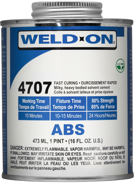 SCIGRIP IPS Weld-On #4707 - Solvent Cement For ABS