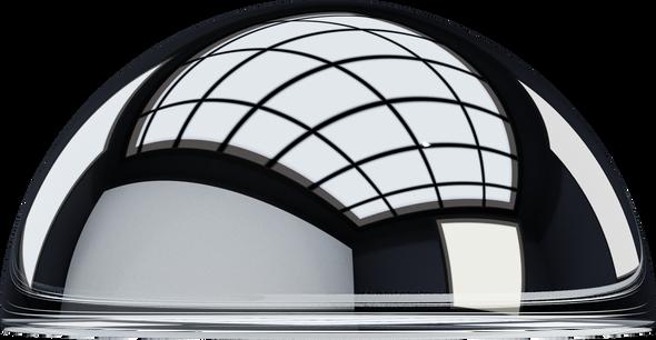 Clear Acrylic Half Sphere