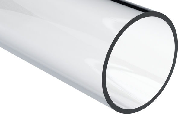 Clear Round Polycarbonate Tube