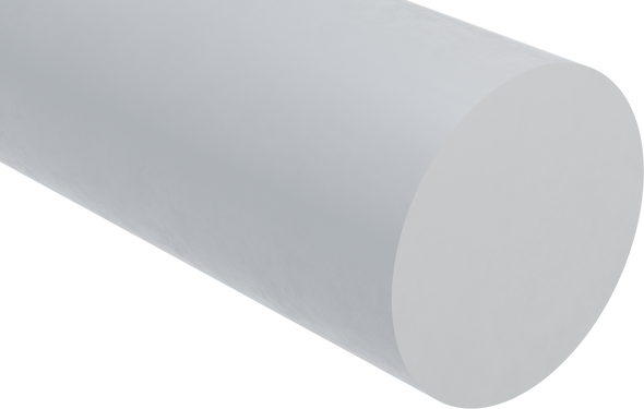 Natural Extruded Nylon 6/6 Rod