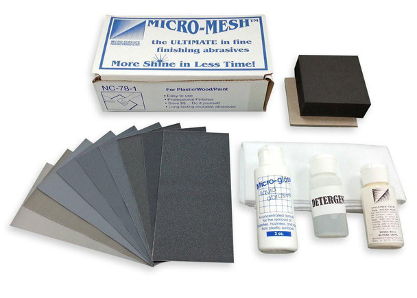 Micro-Mesh NC-78-1 - Acrylic Restoral Kit
