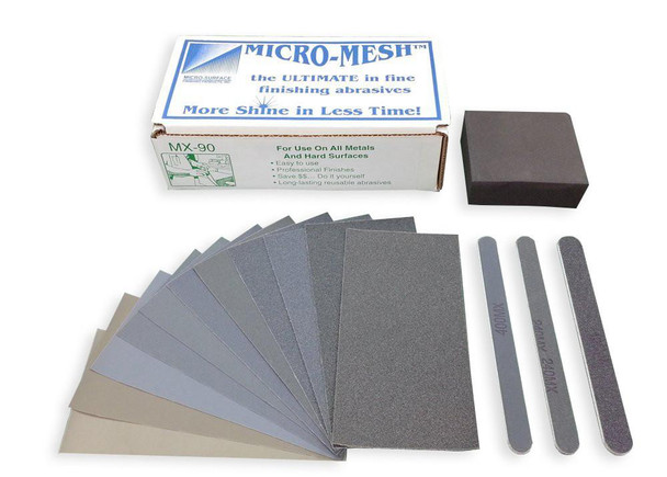 Micro-Mesh MX-90 - Metal Polishing Kit