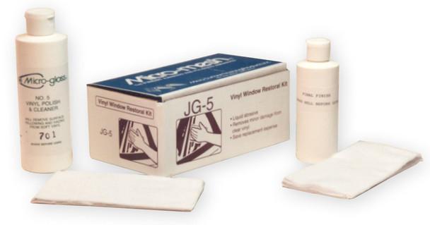 Micro-Mesh JG-5 - Vinyl Window Restore Kit