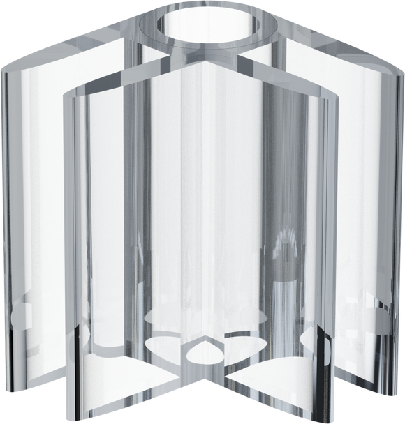 Clear Polycarbonate Panel Connector