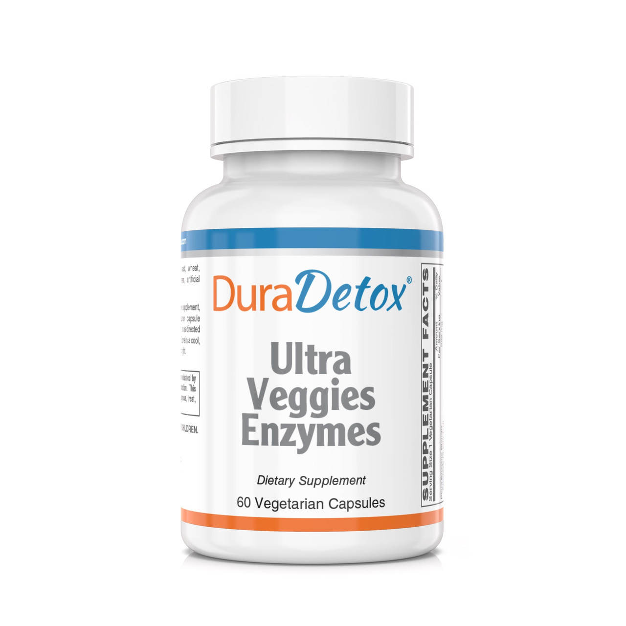 Digestive Enzymes - 15 patented vegetarian Digestive enzymes, active even in the low pH (acid content) of the stomach.