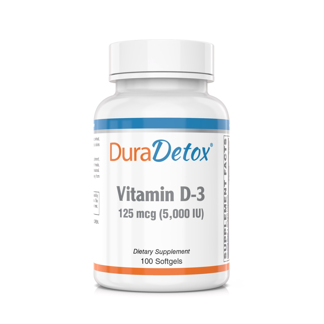 Vitamin D-3 (5,000 IU) for Immune Support and Bone Health. Vitamin D-3 (cholecalciferol), a highly bioavailable form of Vitamin D, in an easy to swallow soft gel.