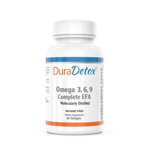 DuraDetox™ Omega 3,6,9 - Complete EFA Omega 3,6,9 Complete EFA is a mixture of borage seed, flaxseed, and fish oils to provide the benefits of the essential fatty and oleic acids.