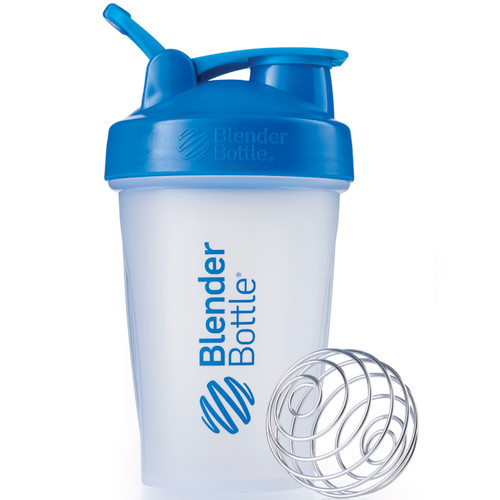 DuraDetox® Blender Bottle, 20oz - Say goodbye to lumpy Fiber. Surgical-grade stainless steel BlenderBall wire whisk delivers smooth fiber, protein and nutrition shakes with ease.