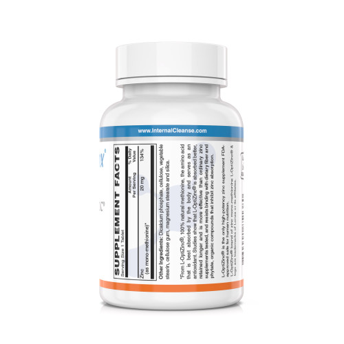 Zinc 20mg, Highly Absorbable Zinc for Immune Support
