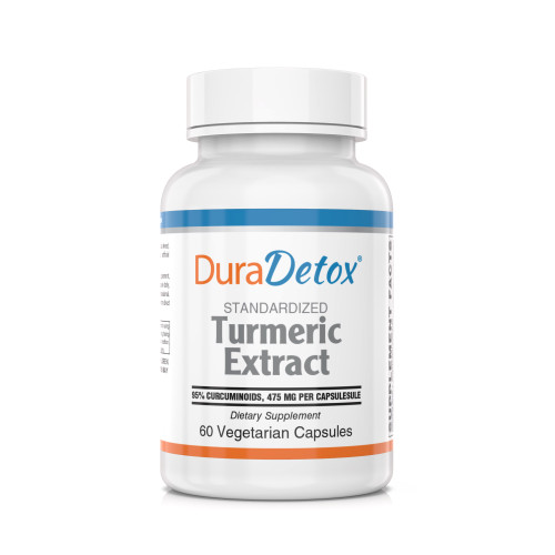 Turmeric Extract 500 mg  - Curcumin C3 Complex® standardized to 95% curcuminoids.