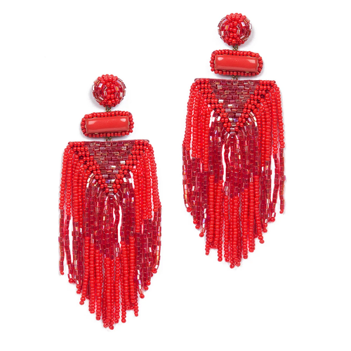 Jody Earring_ Red
