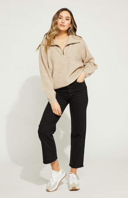 Campbell Pullover_ Heather Fawn