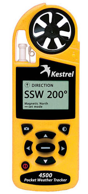 Kestrel 4500: Yellow