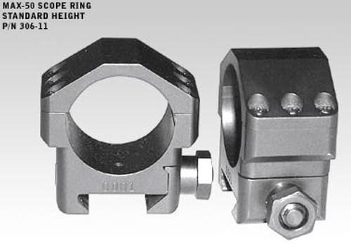 Badger MAX-50 Rings 306-11,Standard .823, 30mm