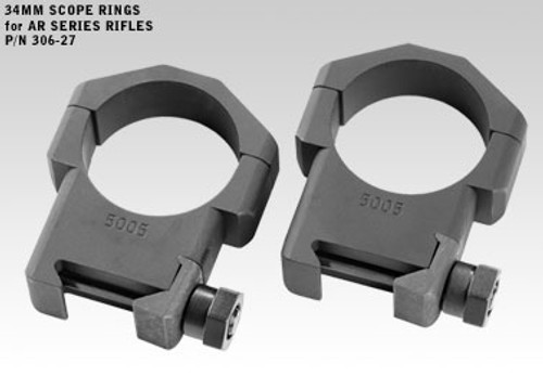 Badger Rings Max-Alloy 306-27, High 1.275, 34mm