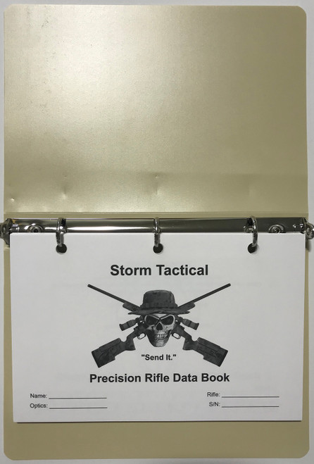"Storm Tactical ""Heavy Paper"" Modular Data Books"