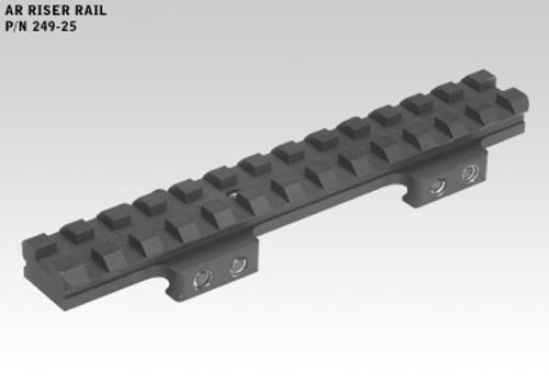 Badger Base, AR Riser Rail:  22MOA