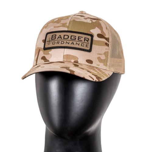 Badger Snapback/Mesh Cap
