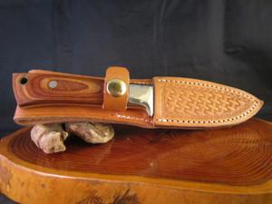 70's Ichiro Hattori, Seki, Japan handmade knife with sheath