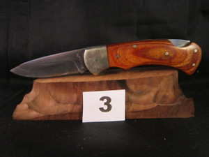 Vintage Sharp Brand folding knife made in Seki, Japan