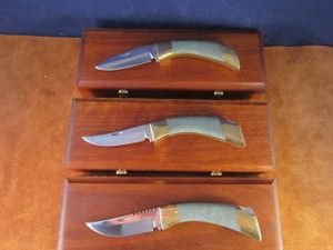 1980's Browning Jades Series Knives