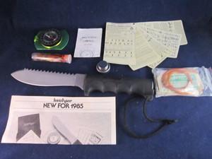 1985 Kershaw 1005 Survival Kit