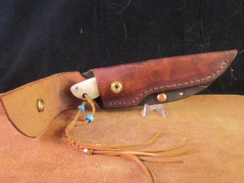 John Emberton Custom knife and sheath