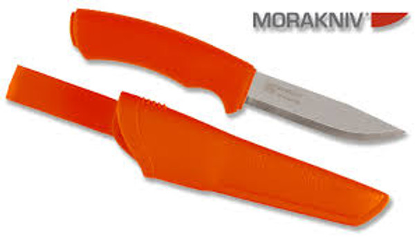 Mora Bushcraft Orange Stainless -