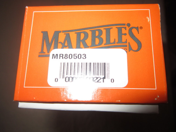 Marbles Plainsman USA Made model 80503 Box