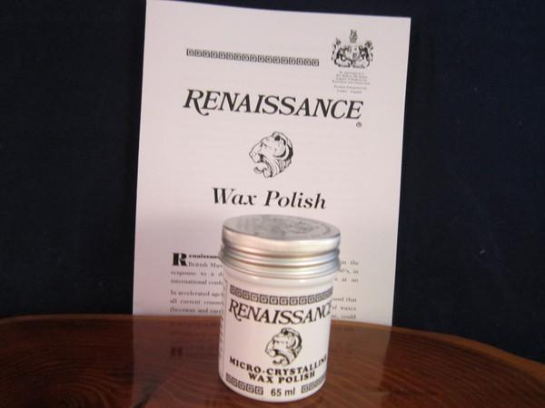 Renaissance Wax in 65ML containe