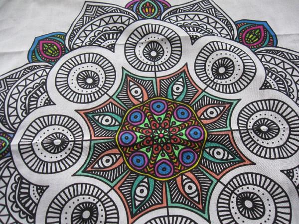 Mandala in process