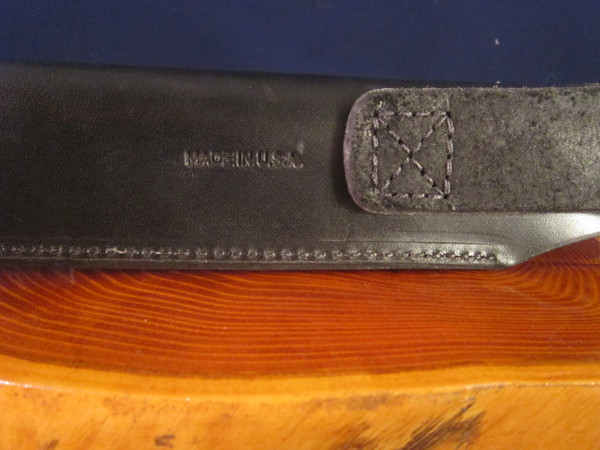 ESEE 6 HM leather sheath- made in USA