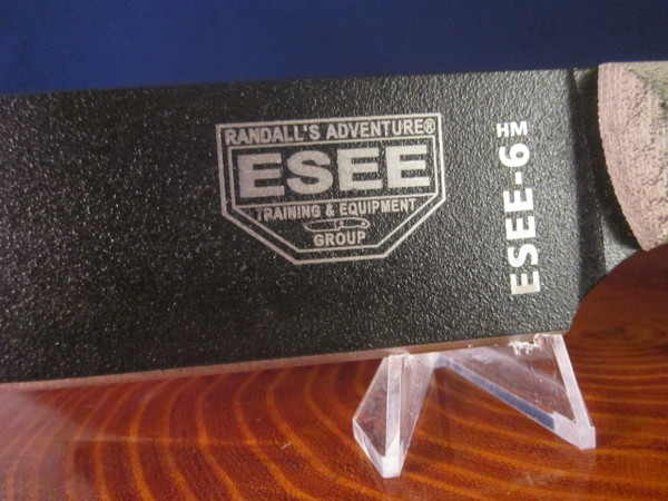 ESEE 6 HM with Quality leather sheath- made in USA