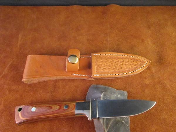 70's Ichiro Hattori, Seki, Japan handmade knife and sheath