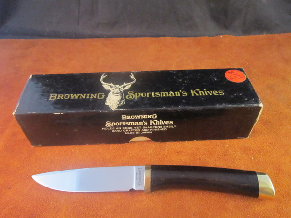 Browning Sportsman Series Knife, model 3718, Seki, Japan- Hattori