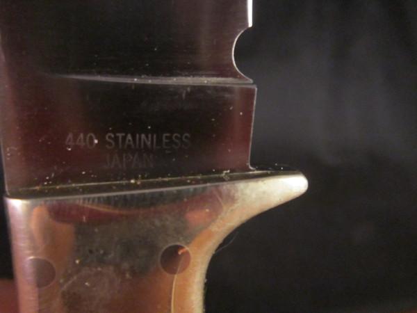 Mint Precise Deerslayer Ltd knife tang stamp
