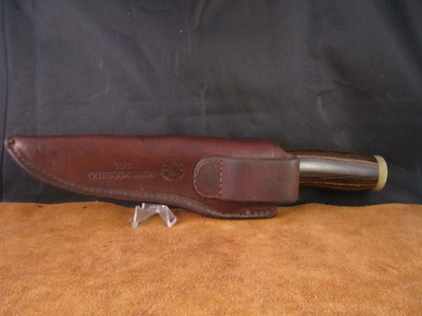1976 S&W Outdoorsman Model 6020  with sheath
