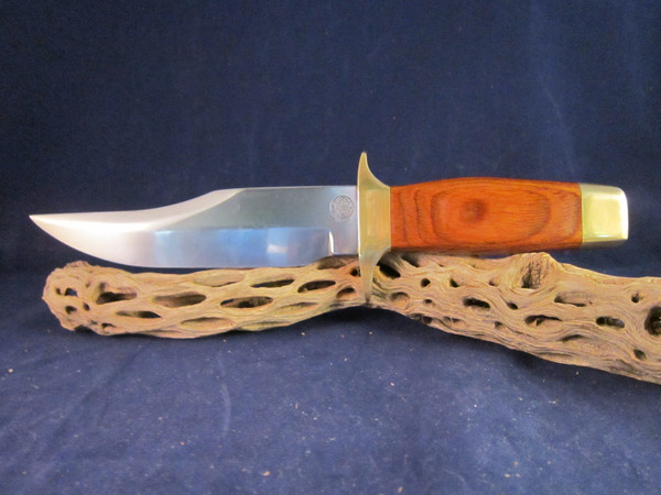 1973 S&W Texas Rangers Bowie Knife in display case