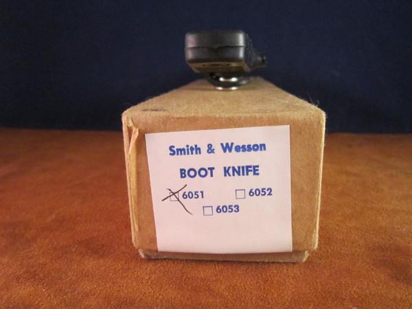 S&W 6051 Boot Knife NIB