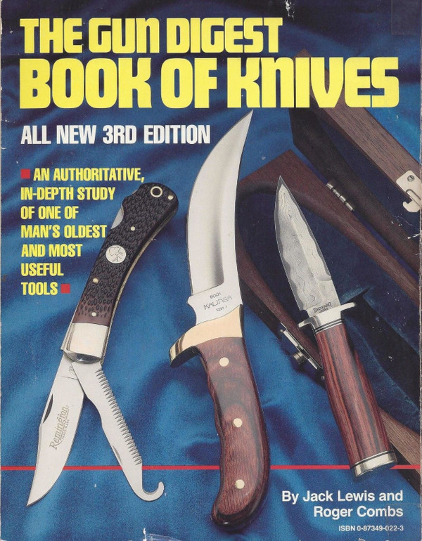 1988 Gun Digest Book of knives Cover.