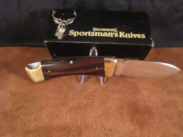 Browning Sportsman Series 3018F  knife