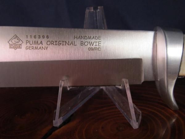 2009 Puma Bowie NIB Logo Details