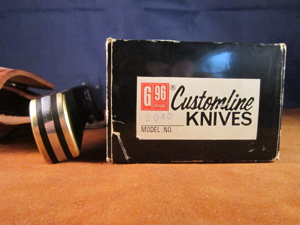 Vintage G 96 3040 knife with box and warranty