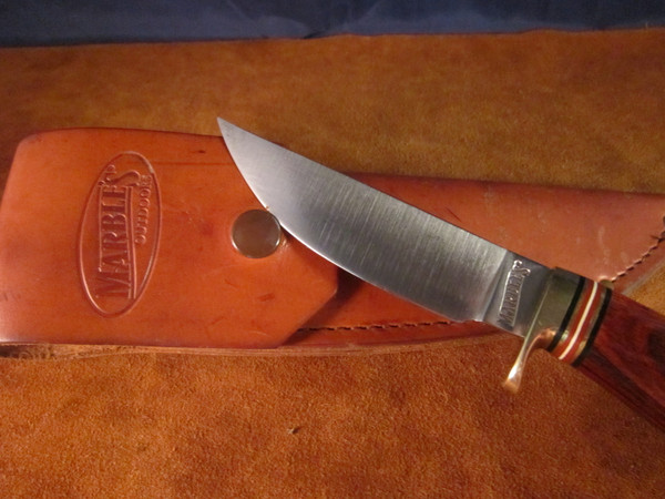 2002 Marbles Plainsman knife