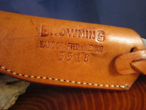 Vintage Browning model 3518 Bird & Trout knife