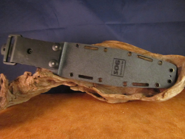 SOG Seal Team 2000 Seki, Japan back of Kydex sheath