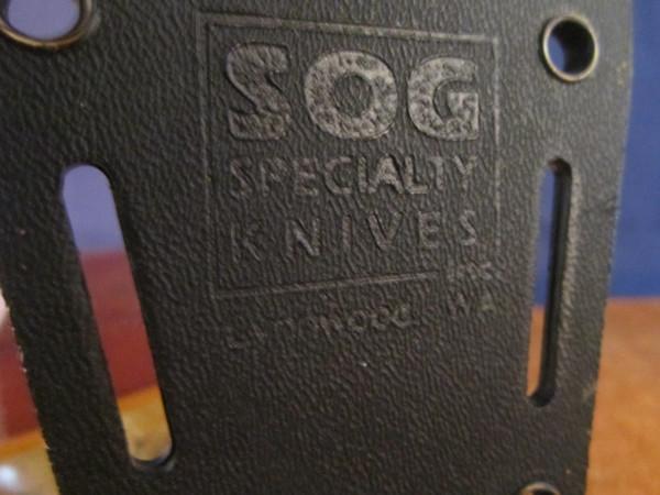 SOG Seal Team 2000 S37K- NOS